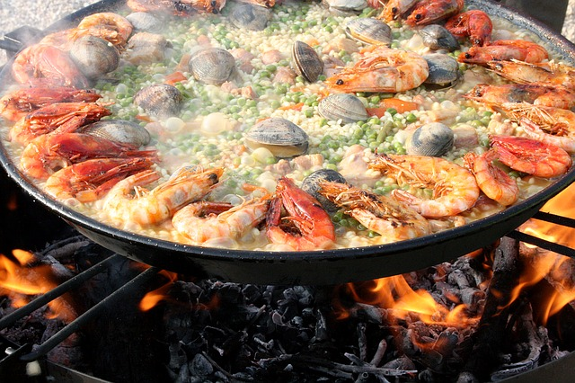 Making the perfect paella